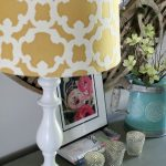 Painted DIY Lamp Makeover