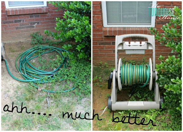 Before and After: Messy Hose to Hose Reel Cart