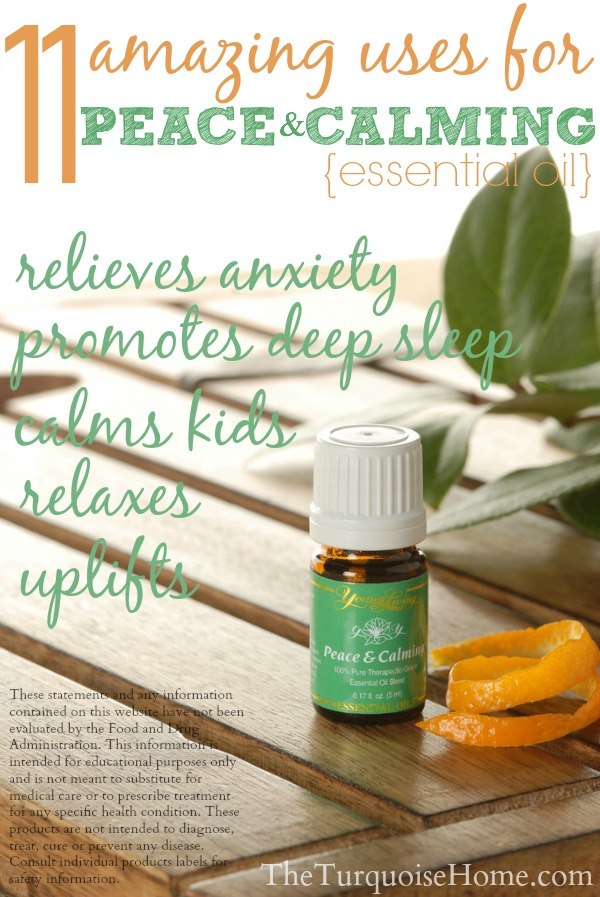 11 Amazing Uses of Peace & Calming Essential Oil (& a giveaway!)