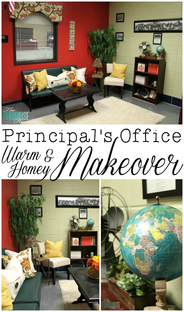 The Principal's Office: A Warm and Homey Makeover + $100 HomeGoods Giveaway!