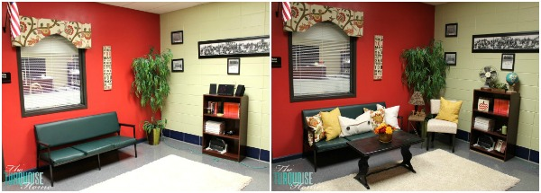 The Principals Office A Warm And Homey Makeover The Turquoise Home