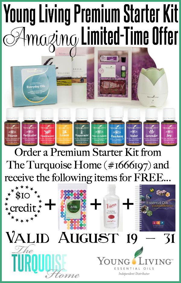Amazing Premium Starter Kit Offer | TheTurquoiseHome.com