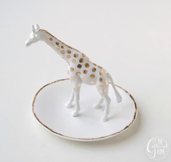Anthropologie Knockoff Giraffe Trinket Dish