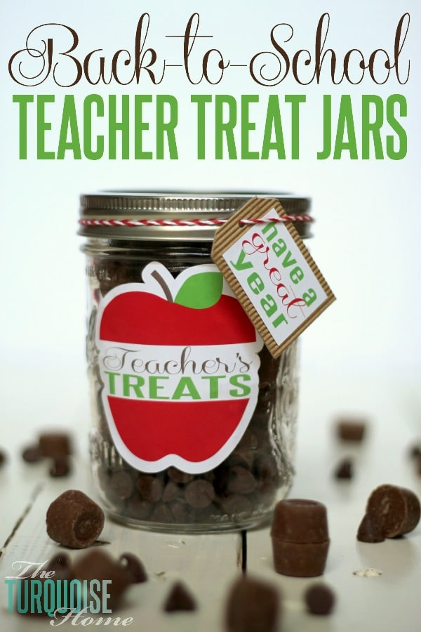 Back-to-School Teacher's Treat Jar (& Silhouette Promotion!)