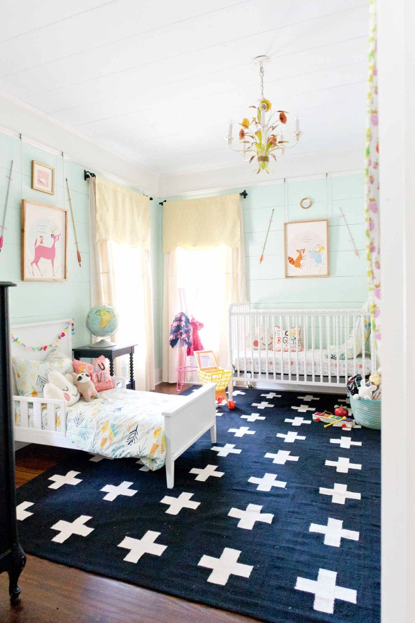 Shared Bedroom Inspiration from Lay Baby Lay