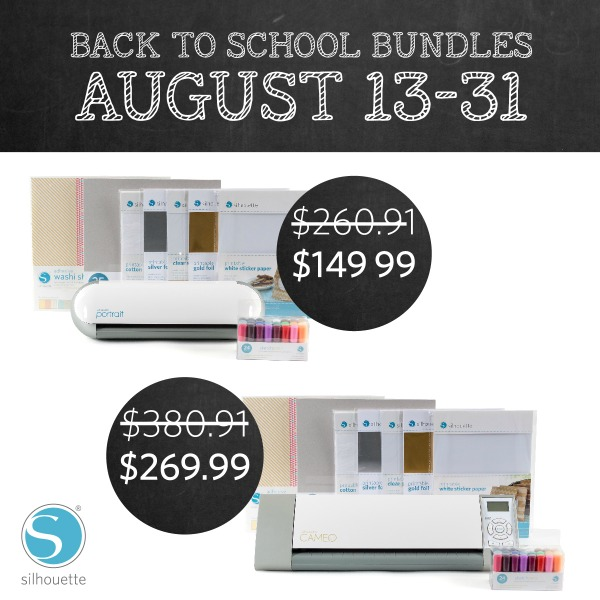 Silhouette August Promotion