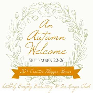 An Autumn Welcome Fall Home Tours