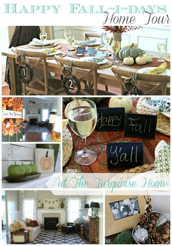 Happy Fall-i-days Home Tour | TheTurquoiseHome.com