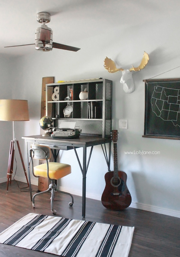 Man Cave Makeover by Lolly Jane