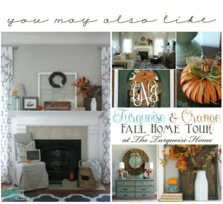 Fall Mantel and Home Tour 2014
