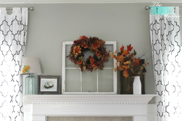 How to Decorate a Mantel | TheTurquoiseHome.com
