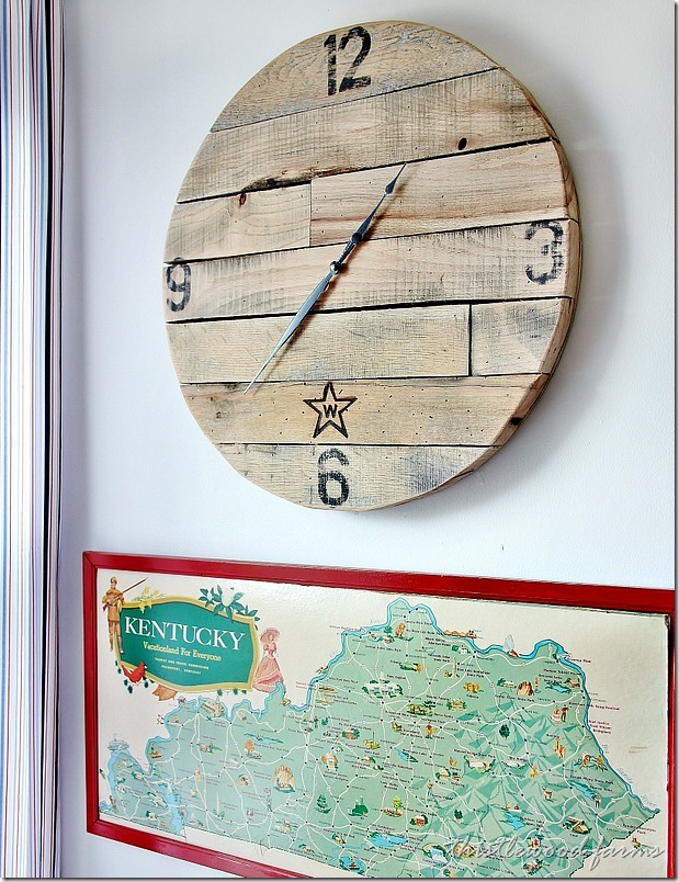 Pallet Wood Clock Project