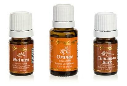 Cinnamon Bark, Nutmeg and Orange | Fall Essential Oil Scents