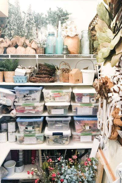 DIY Closet Shelves - a 5 year update and how they've held up! #diyproject #diyclosetshelves #diyshelves #diyhomedecor #diyhomedecoronabudget
