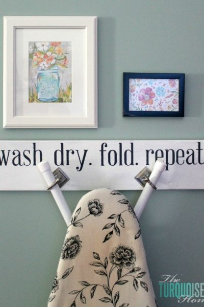 How to Hang the Ironing Board Hanger