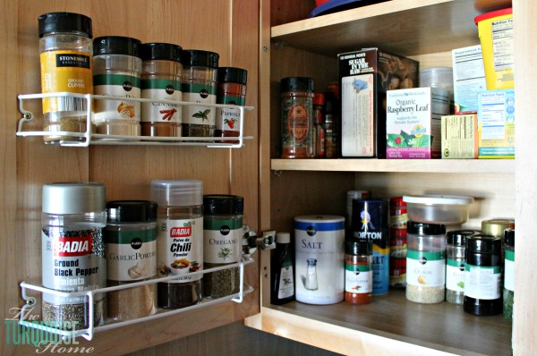 Kitchen Organization Supplies | TheTurquoiseHome.com