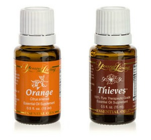 Thieves and Orange | Fall Essential Oil Scents