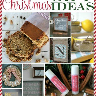 11 Handmade Christmas Gift Ideas | TheTurquoiseHome.com