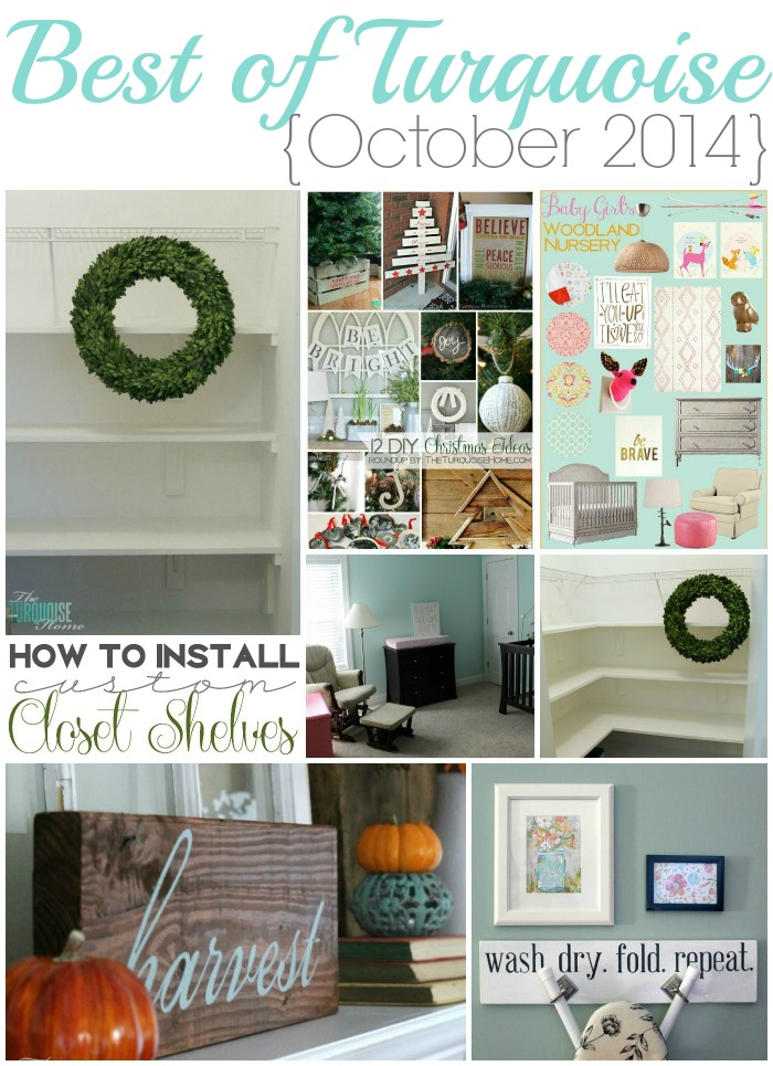 Best of Turquoise {October 2014}