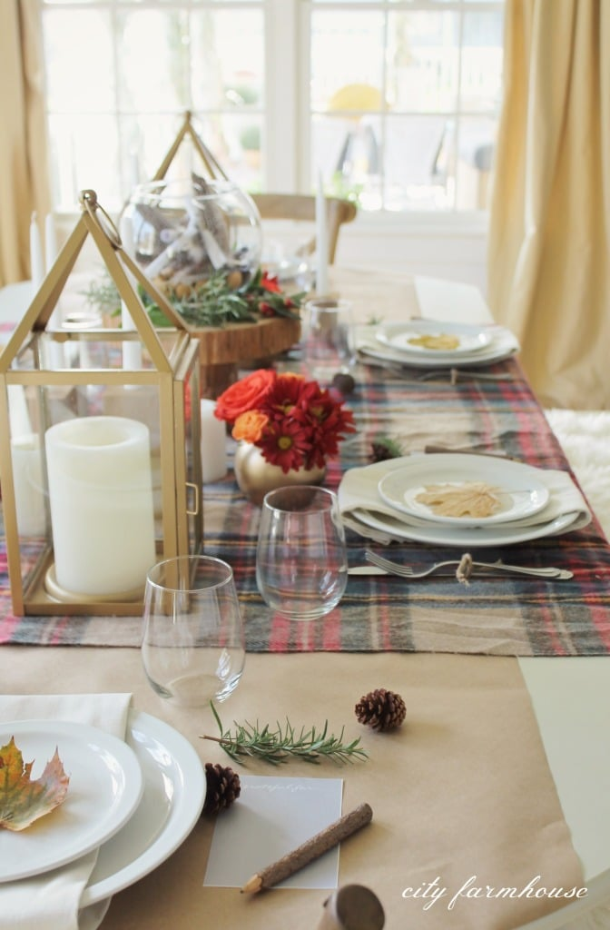 27 Gorgeous Thanksgiving Tablescapes | Rustic, Chic Fall Tablescape