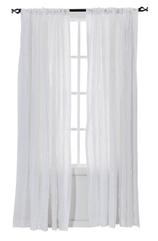 Simply Shabby Chic® Vertical Ruffle Curtain Panel from Target