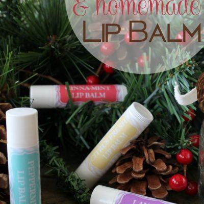 Homemade All-Natural Lip Balm