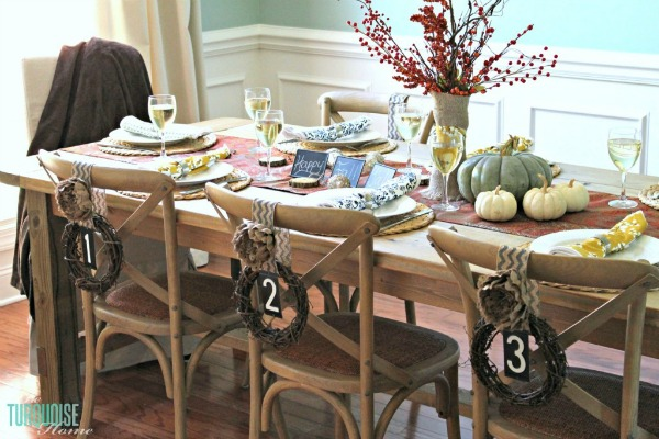 27 Gorgeous Thanksgiving Tablescapes | Rustic and Simple Fall Table