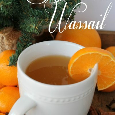 Delicious Spiced Wassail