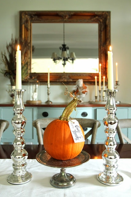 pumpkin and candles sm