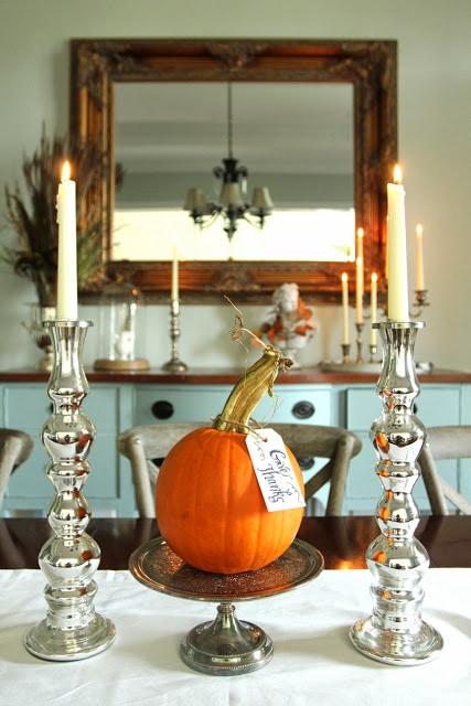 pumpkin and candles sm