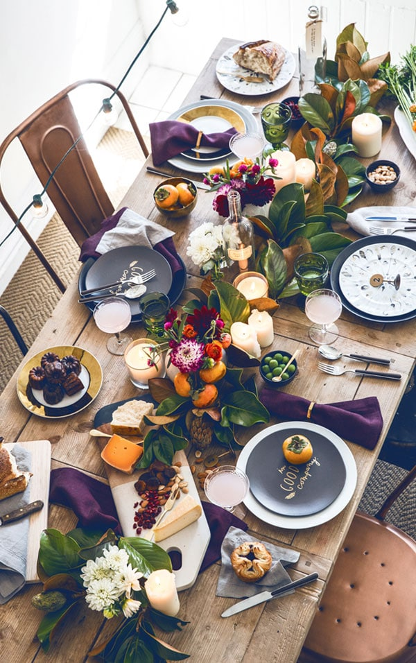 Break it Down: Fall Table Setting