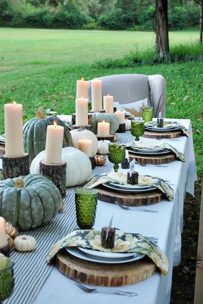 27 Gorgeous Thanksgiving Tablescapes | Enchanted Autumn