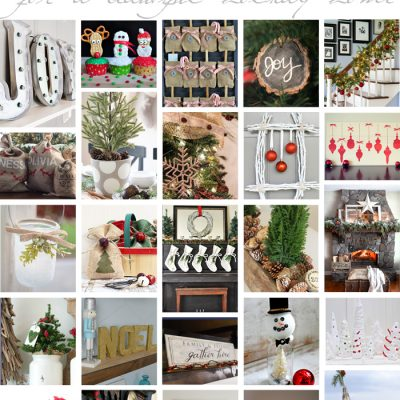 100 Christmas Projects for a Beautiful Holiday Home | TheTurquoiseHome.com