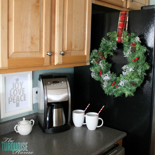 Christmas Decorations For Coffee Shops: Christmas Decorating In The Kitchen