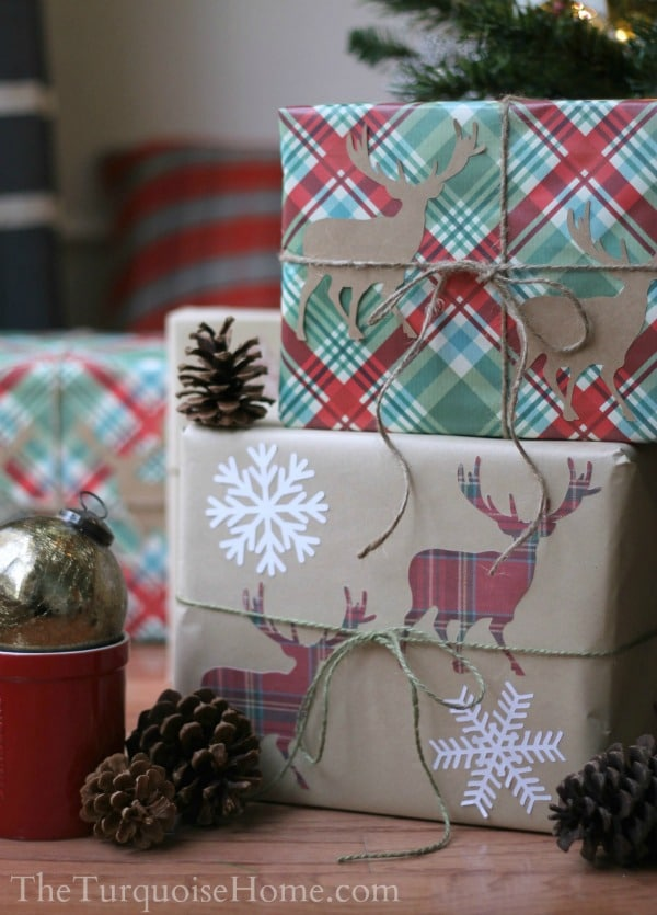 Simple Gift Wrapping Ideas | TheTurquoiseHome.com