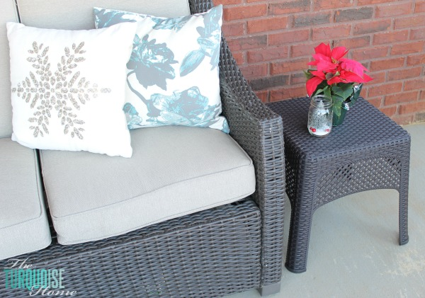 Back Porch Spruce Up | TheTurquoiseHome.com