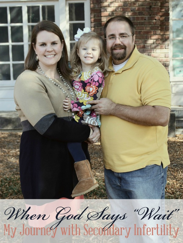 The Trial and My Faith: Journey with Secondary Infertility | TheTurquoiseHome.com