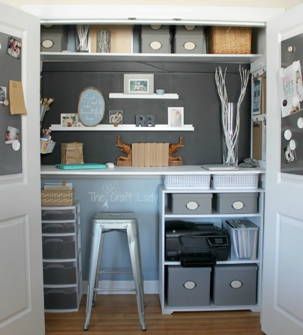 Home-office-in-a-closet-from-The-Crazy-Craft-Lady1-926x1024