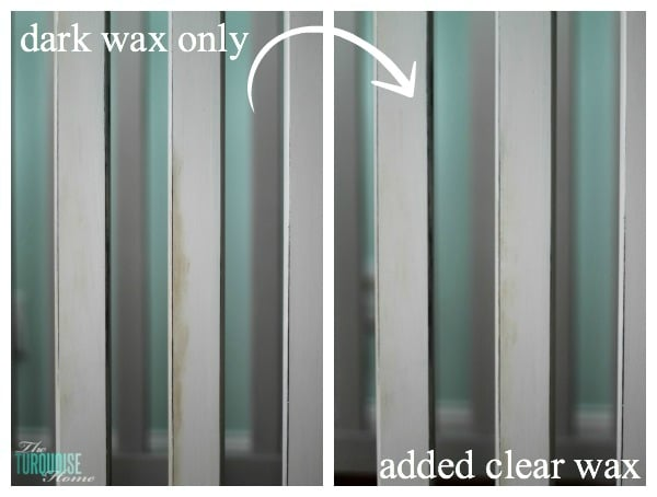 How to Apply Annie Sloan Dark Wax | TheTurquoiseHome.com