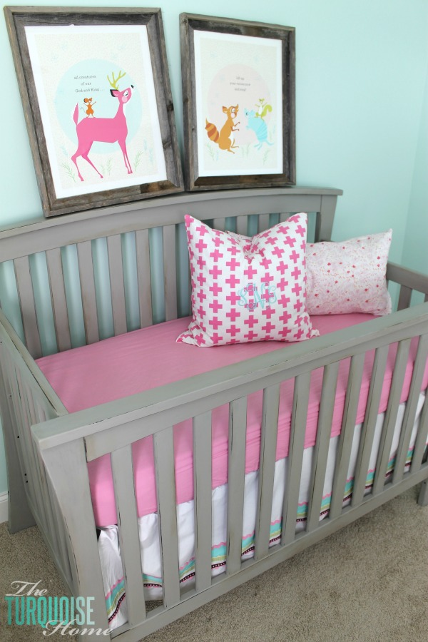 Beautiful Gray Crib Makeover With Annie Sloan Chalk Paint Theturquoisehome