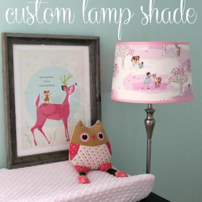 How to Make a Custom Lamp Shade