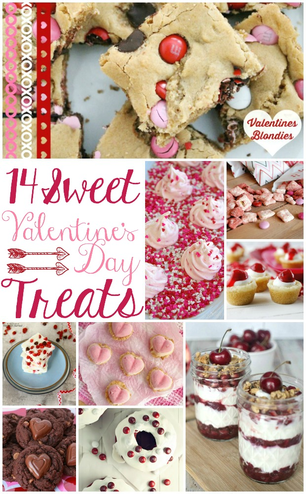 14 Sweet Valentine's Day Treats | TheTurquoiseHome.com
