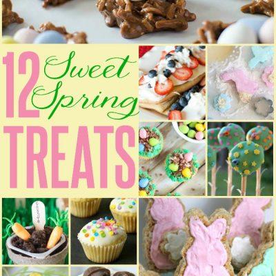 12 Sweet Spring Treats