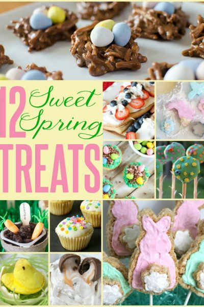 12 Sweet Spring Treats - a yummy way to celebrate this new season!! | TheTurquoiseHome.com