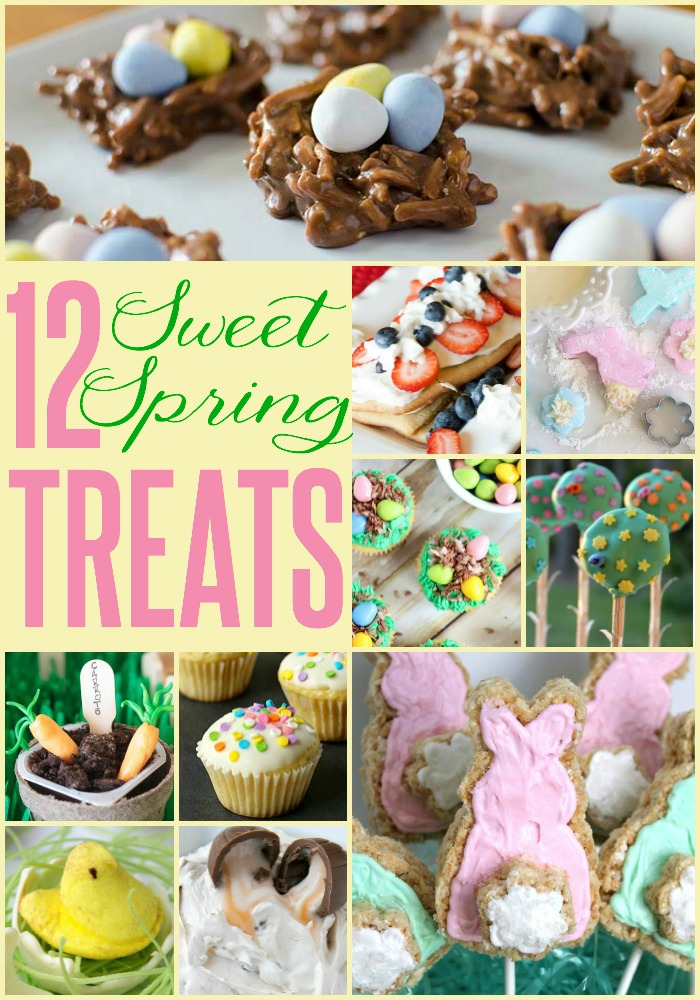 12 sweet spring treats the turquoise home 12 sweet spring treats a yummy way to celebrate this new season negle Choice Image