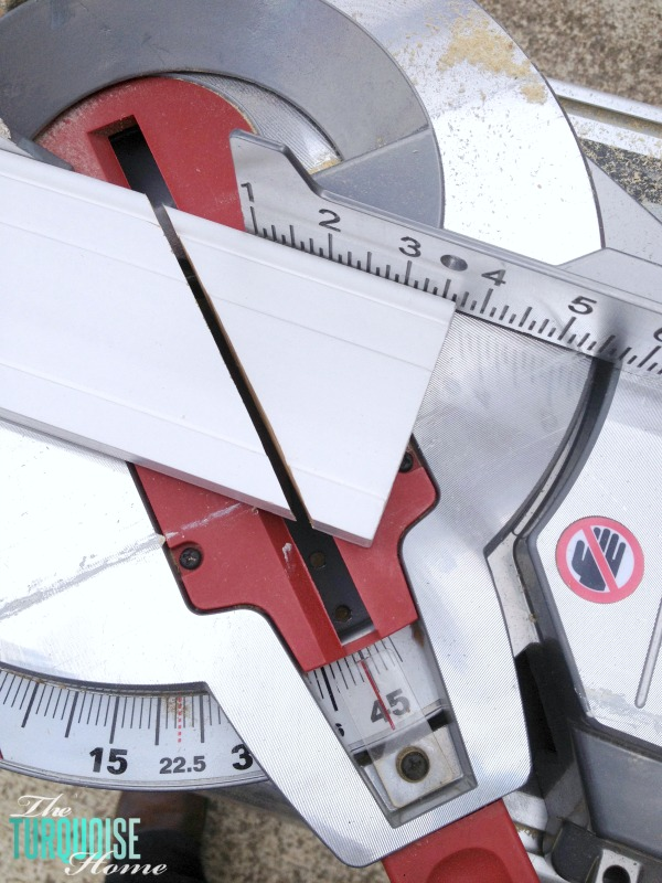 5 Must-have Tools for the DIYer | Miter Saw | TheTurquoiseHome.com