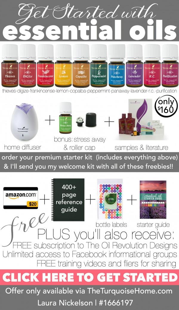 Premium Starter Kit plus Free Welcome Kit! | TheTurquoiseHome.com