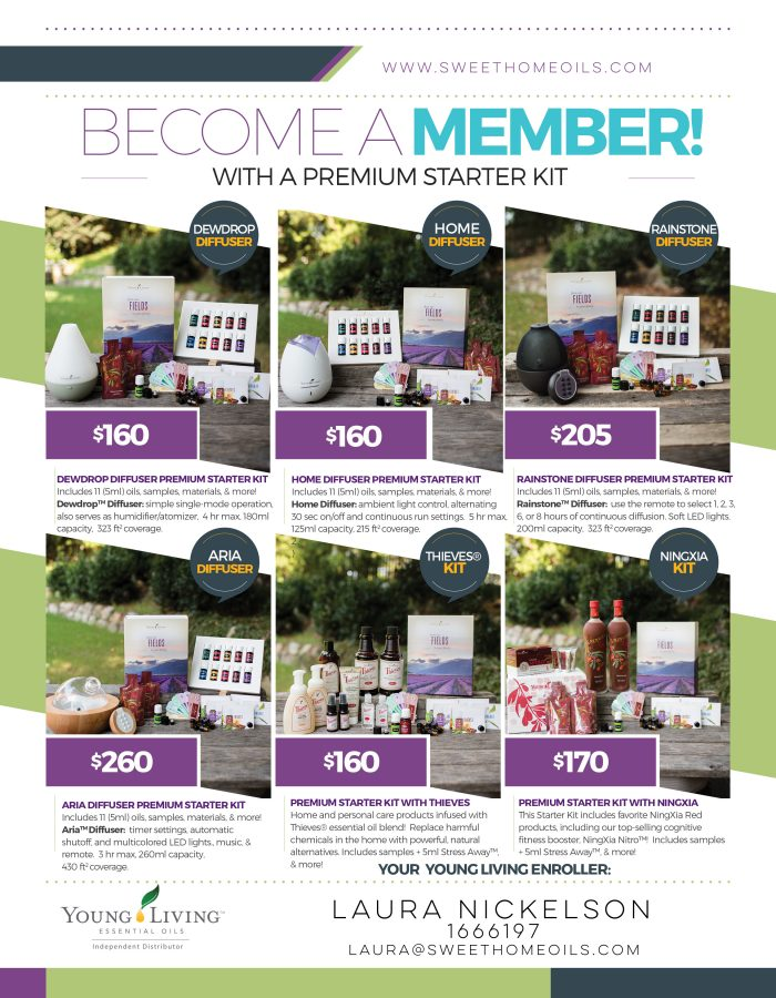 The NEW Young Living Premium Starter Kit + Welcome Kit | TheTurquoiseHome.com