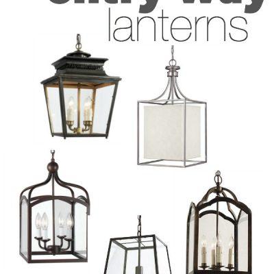 5 Favorite Entry Way Lanterns