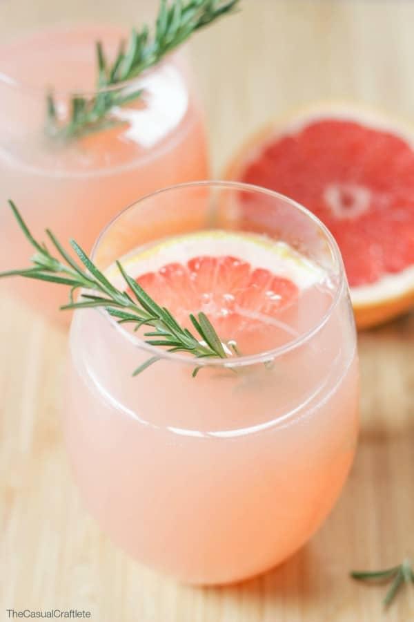 Grapefruit Rosemary Mocktail